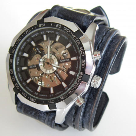Unisex Skeleton Watch 069d1e7839d3
